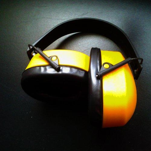 Наушники усиленные желтые